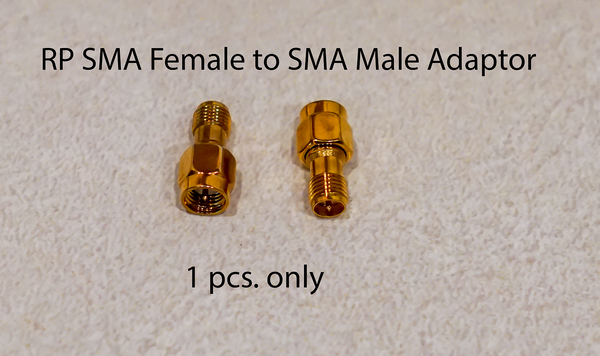 RP SMA Female to SMA Male Adapter