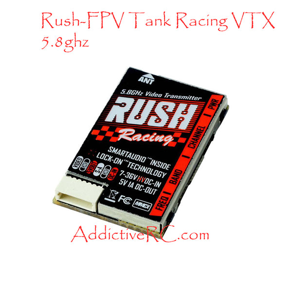 Rush Tank Racing Edition 5.8ghz VTX with Smart Audio