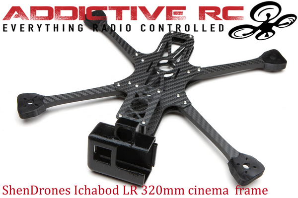 Copy of ShenDrones Ichabod Long Range 7-inch (Props) Frame Kit Hero8