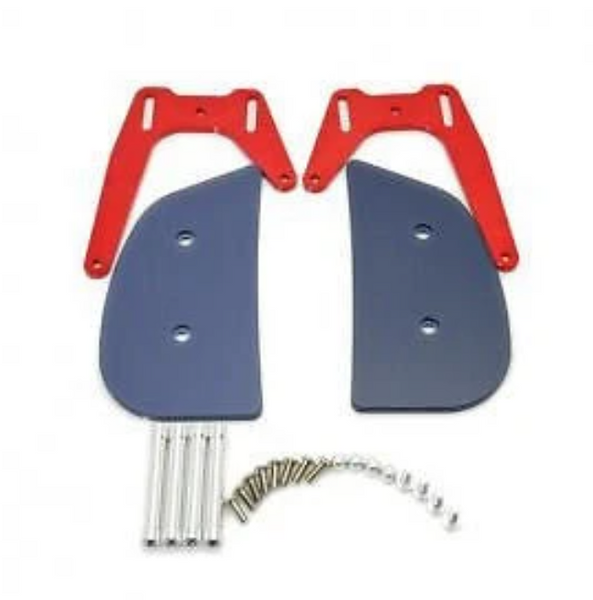 Secraft Transmitter tray Hand Rest Set Red
