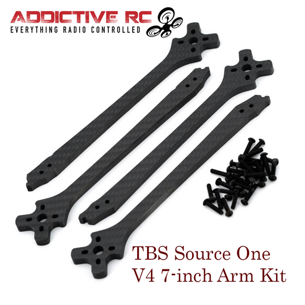TBS SOURCE ONE V4 7 INCH ARM SET