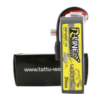 Tattu R-Line 4000mAh 95C 6S1P Lipo Battery, AS150+AS150 (Xclass)