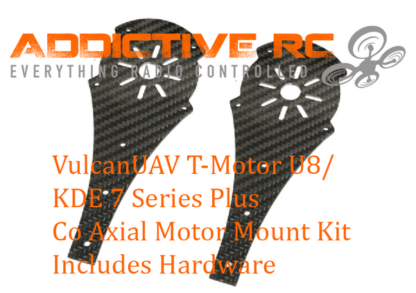 VulcanUAV T-Motor U8/KDE 7 Series Plus Co-Axial Motor Mount Kit