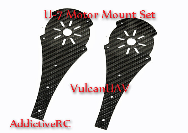 VulcanUAV U-7 CF Motor Mount Kit with Hardware