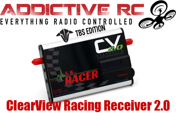 CLEARVIEW RACING RECEIVER 2.0 TBS EDITION 5.8ghz ground station