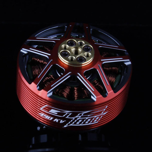 RCINPOWER GTS4715 360KV RED/BLACK (XCLASS / BEAST CLASS MOTOR)