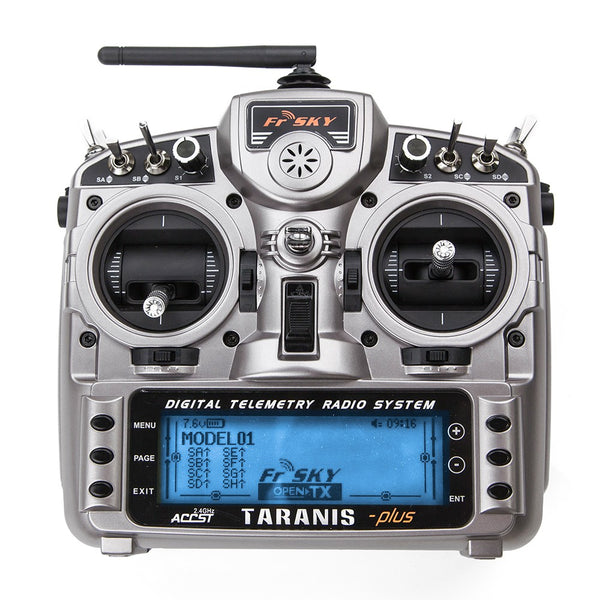 FrSky Taranis X9D Plus 2.4GHz ACCST Radio (Mode 2)