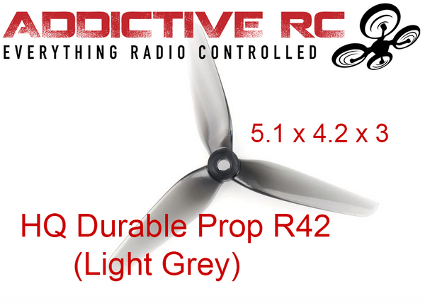 HQ DURABLE PROP R42 (LIGHT GREY)