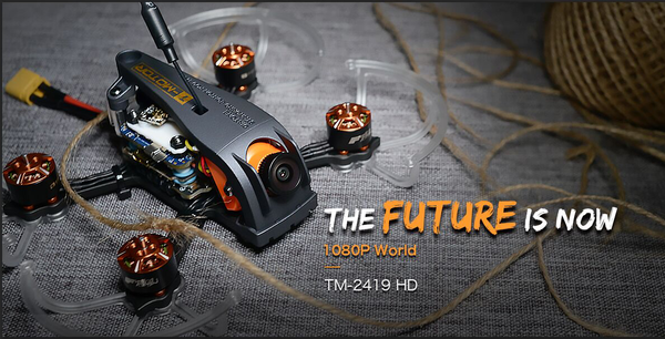 "T-Motor TM-2419+ 2.5"" HD Micro Quadcopter - PNP"