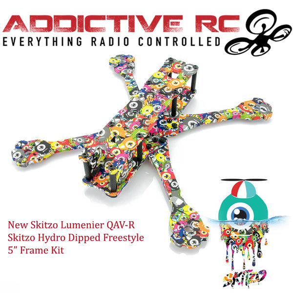 "Lumenier QAV-R 2 SKITZO Freestyle 5"" Quadcopter Frame (Hydro Dipped)"