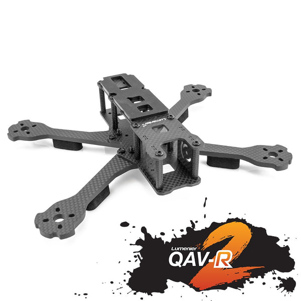 "Lumenier QAV-R 2 Freestyle Quadcopter Frame with 6"" ARMS"
