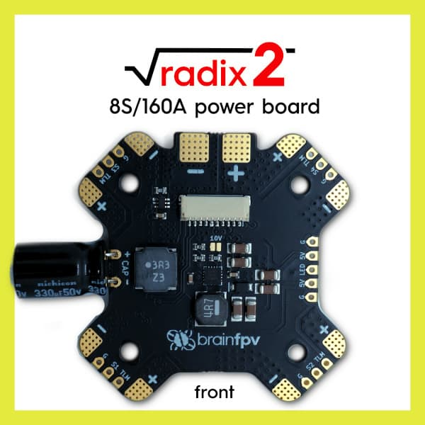 BRAINFPV RADIX 2 POWER BOARD