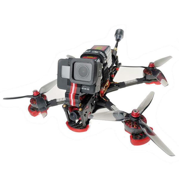HGLRC Sector 5 V3 Freestyle FPV Racing Drone Caddx Ratel Version BNF (Crossfire Nano)