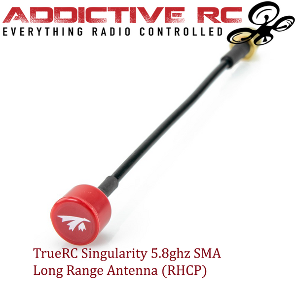 TrueRC Singularity 5.8 SMA Long Antenna (RHCP)