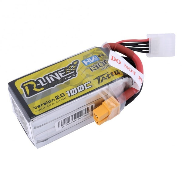 TATTU R-Line 1300mAh 4s 100c Lipo Battery V2.0