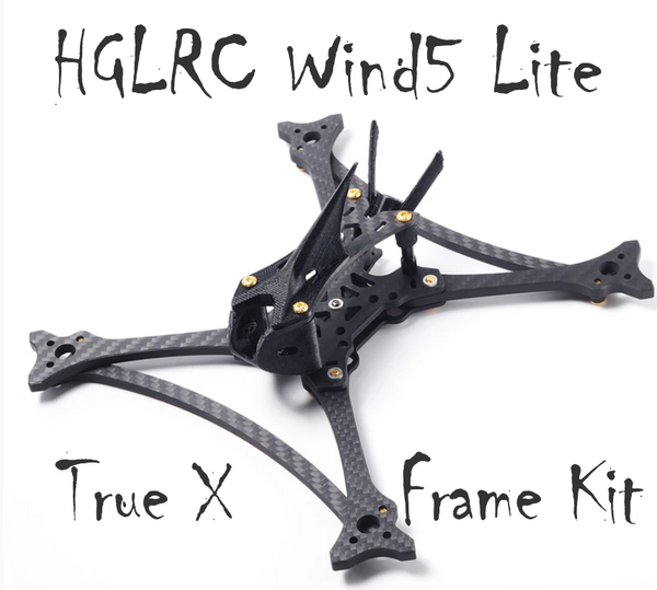 HGLRC Wind5 Lite True X Frame Kit