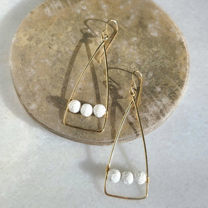 Hedjet Earrings- Fragrance Diffusing Demi-Fine Jewelry