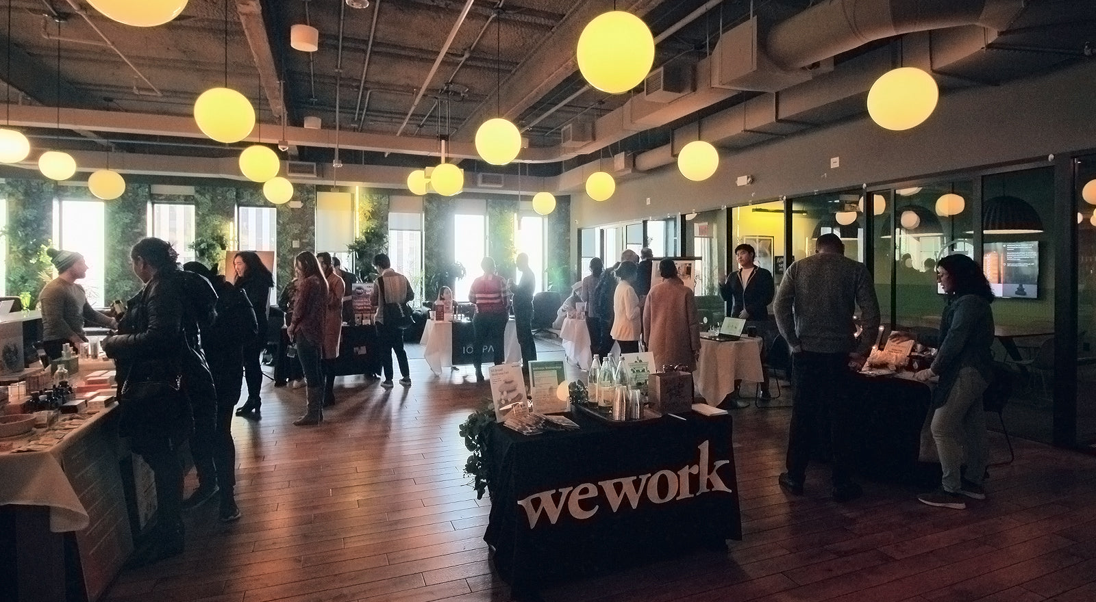 WeWork 85 Broad st. Wellness Fair January 15th, 2020 - 12-3pm on 27th Floor Commons
