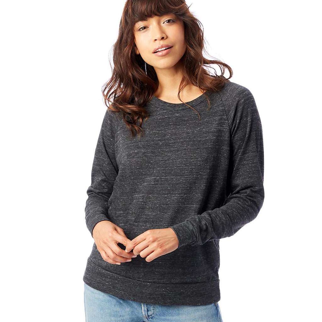 ALTERNATIVE LADIES' SLOUCHY ECO JERSEY PULLOVER classic fit - humanKIND shop with a purpose