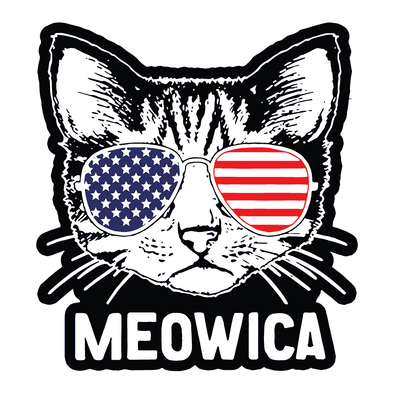 4th OF JULY- MEOWICA CAT