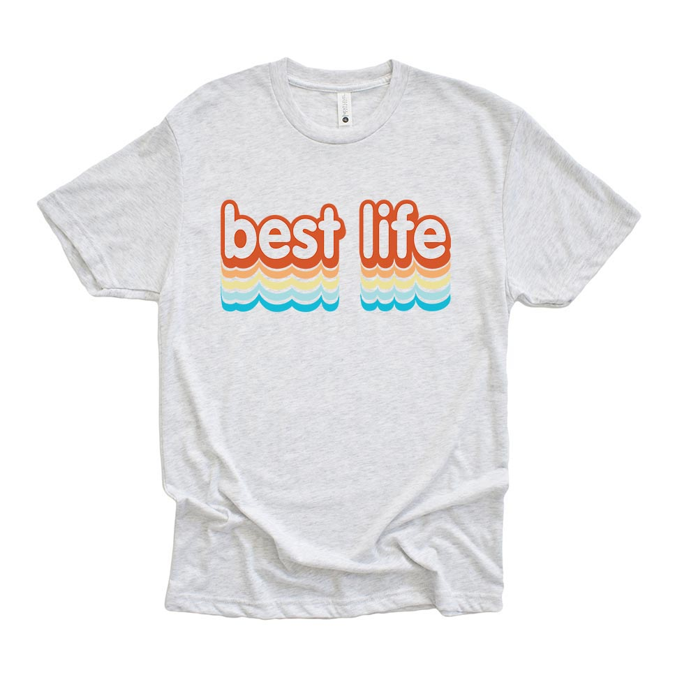 BEST LIFE SUMMER<br />youth triblend tee