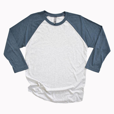 NEXT LEVEL 3/4 SLEEVE RAGLAN  <br />classic fit - humanKIND shop with a purpose