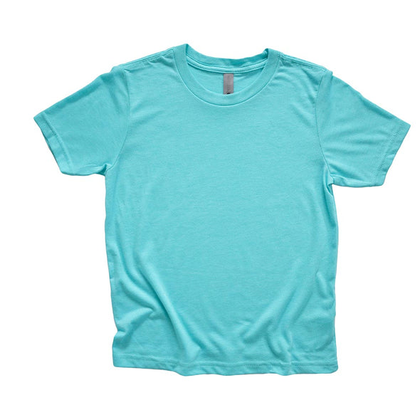 NEXT LEVEL YOUTH TRIBLEND TEE  <br/>classic fit - humanKIND shop with a purpose