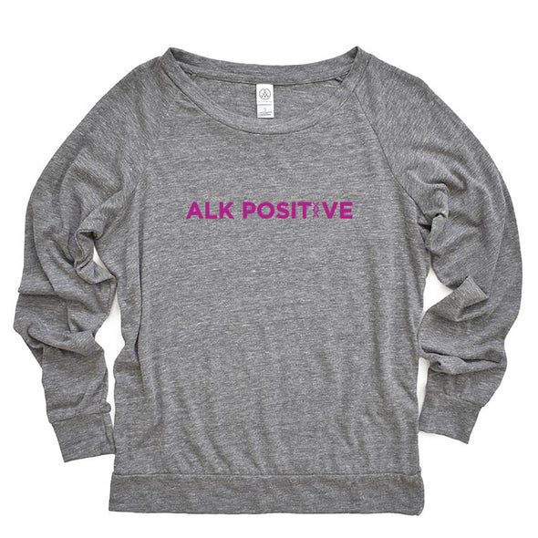 ALK  POSITIVE  ALTERNATIVE LADIES' SLOUCHY ECO JERSEY PULLOVER classic fit