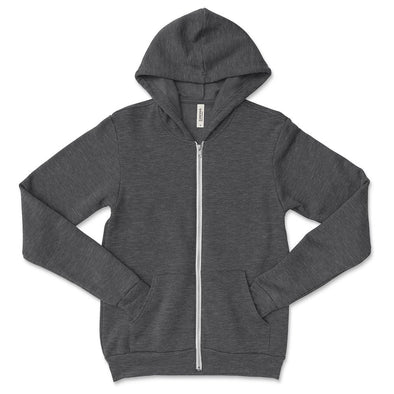 BELLA + CANVAS YOUTH FULL ZIP HOODIE <br />classic fit - humanKIND shop with a purpose
