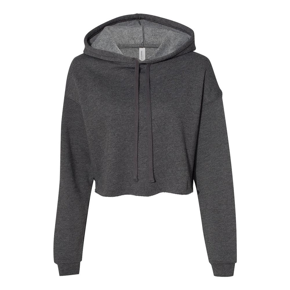 WOMEN'S CROPPED FLEECE HOODIE <br /> Bella + Canvas <br /> classic fit