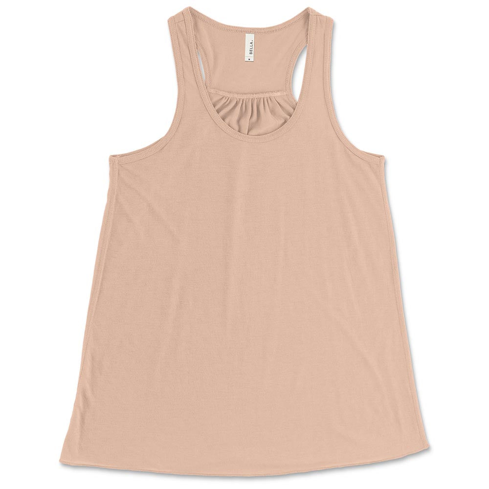 YOUTH FLOWY RACERBACK TANK <br />Bella+Canvas <br /> relaxed fit - humanKIND