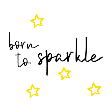 BORN TO SPARKLE - humanKIND shop with a purpose