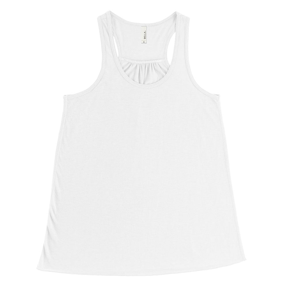 BELLA + CANVAS LADIES' FLOWY RACERBACK TANK (Clearance)<br />flowy fit - humanKIND