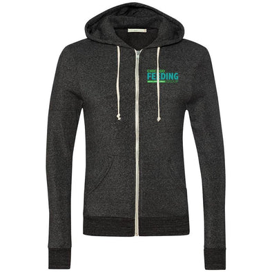 Chicago Feeding Group UNISEX ECO FLEECE ZIP HOODIE <br />alternative apparel - humanKIND shop with a purpose