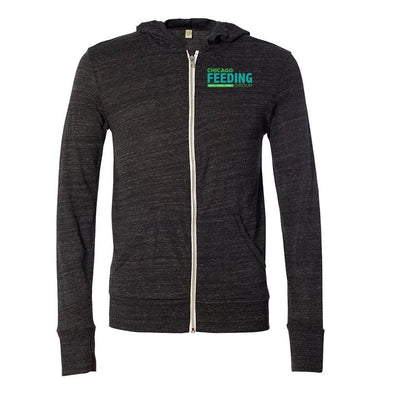 Chicago Feeding Group Eco-Jersey FULL ZIP HOODIE <br />alternative apparel - humanKIND shop with a purpose