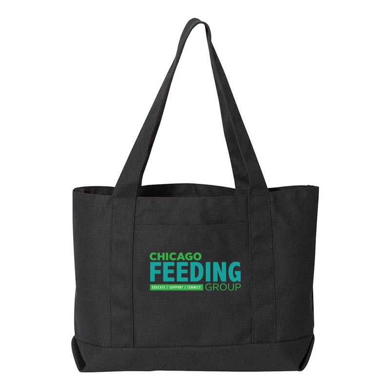 Chicago Feeding Group CANVAS TOTE <br />liberty bags - humanKIND shop with a purpose