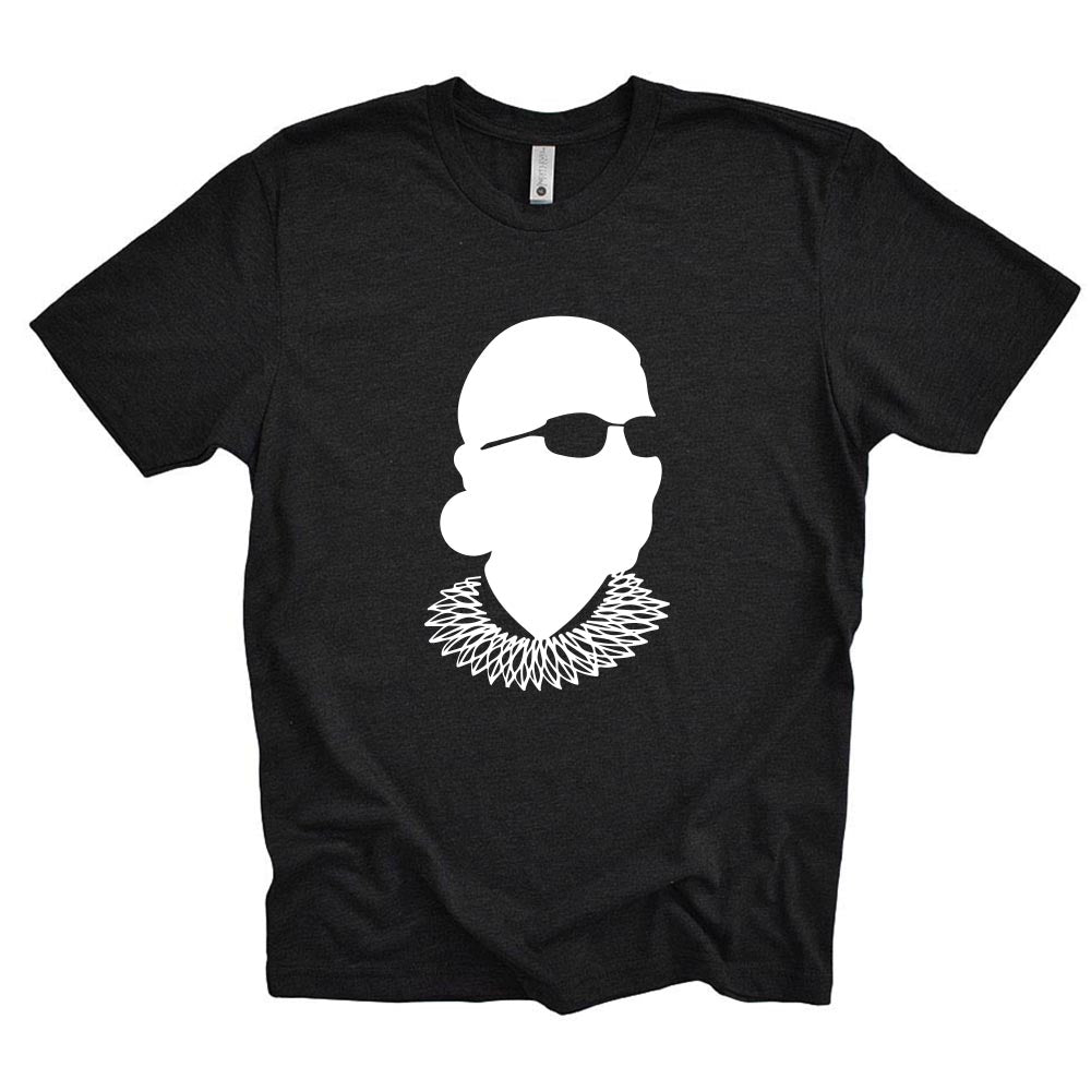 FEAR THE FRILL  - RUTH BADER GINSBURG <br />NEXT LEVEL UNISEX TEE classic fit
