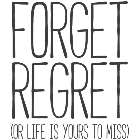 FORGET REGRET - humanKIND shop with a purpose