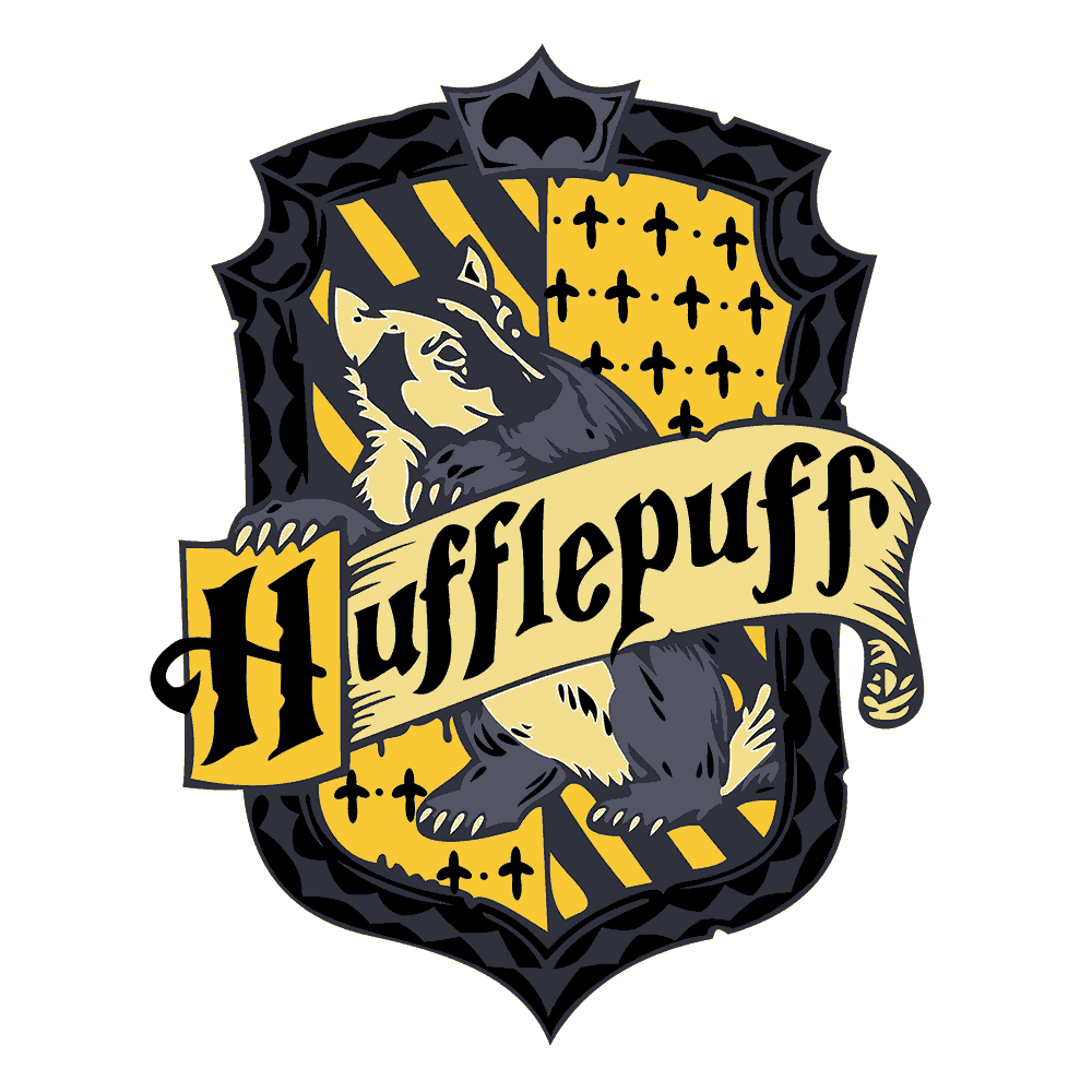 HARRY POTTER- HUFFLEPUFF CREST