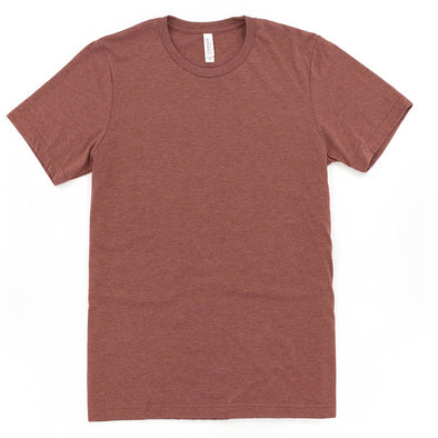 BELLA + CANVAS UNISEX HEATHER TEE <br />slim fit