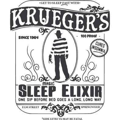 NIGHTMARE ON ELM STREET- KRUEGER'S SLEEP ELIXIR- FREDDY KRUEGER