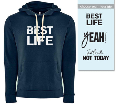 yEAHBestLife <br />UNISEX PULLOVER HOODIE <br />next level - humanKIND shop with a purpose