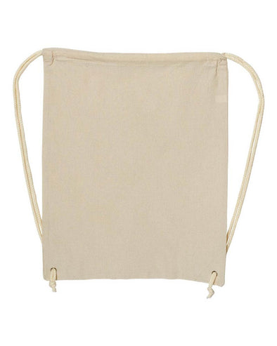 LIBERTY BAGS CANVAS DRAWSTRING BACKPACK - humanKIND shop with a purpose