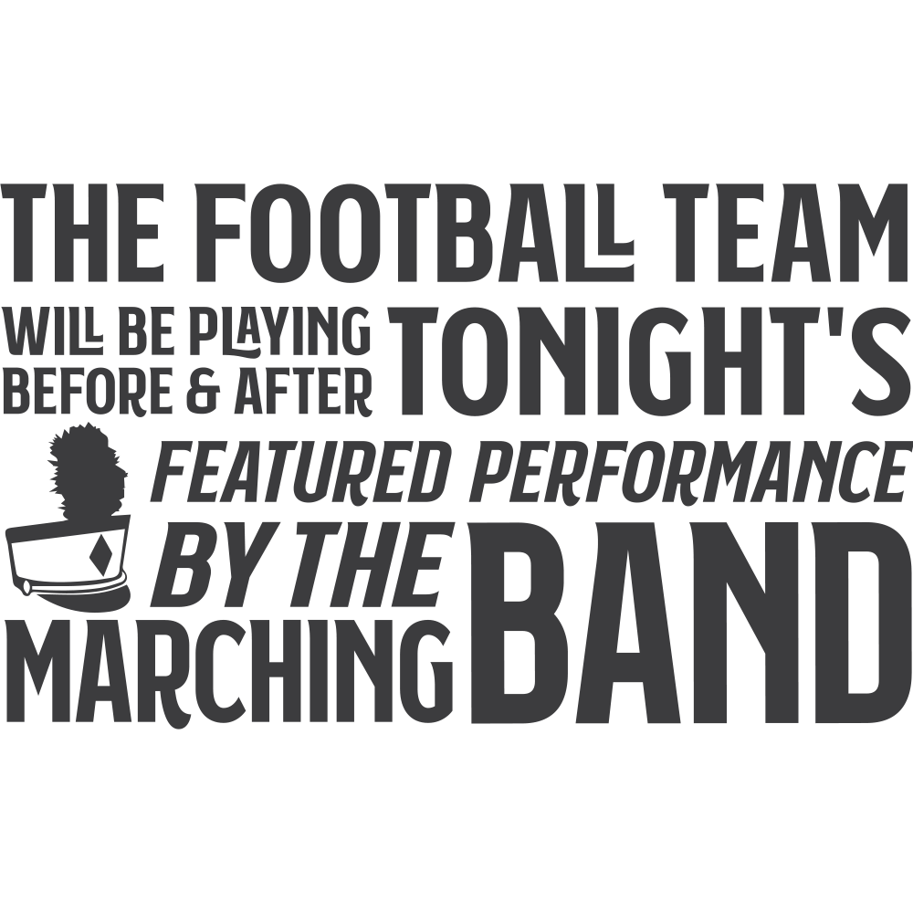 MARCHING BAND FEATURED PERFORMANCE - humanKIND