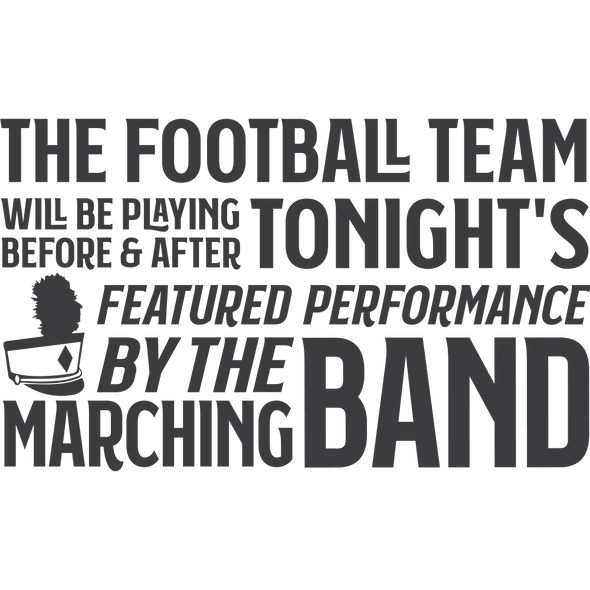 MARCHING BAND FEATURED PERFORMANCE - humanKIND shop with a purpose