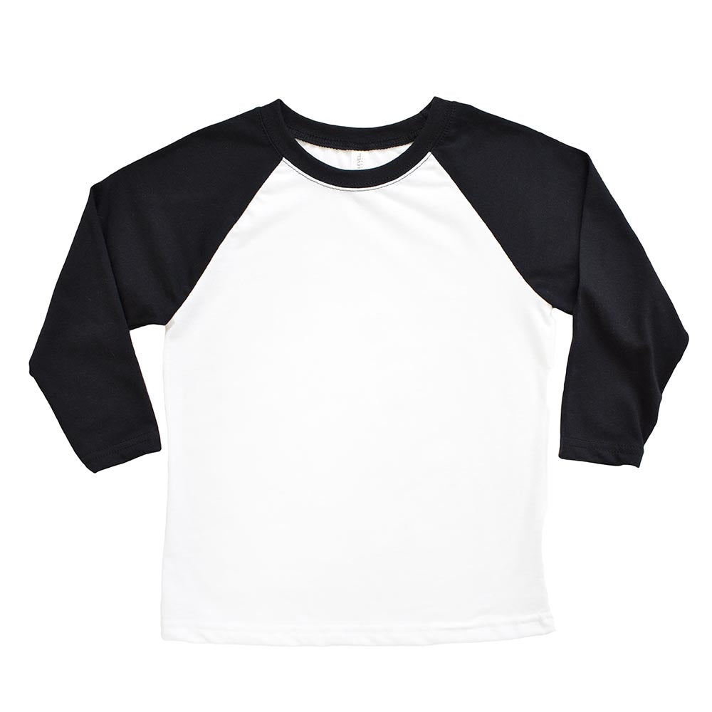 NEXT LEVEL YOUTH  3/4 SLEEVE RAGLAN <br/>slim fit - humanKIND