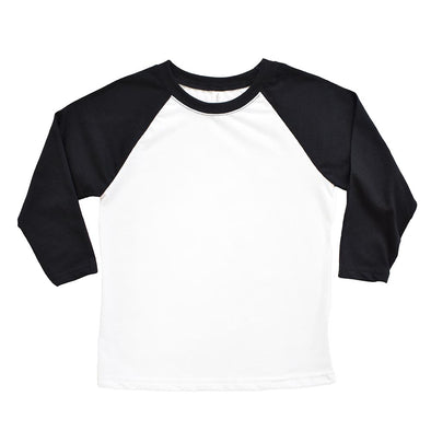 NEXT LEVEL YOUTH  3/4 SLEEVE RAGLAN <br/>slim fit - humanKIND shop with a purpose