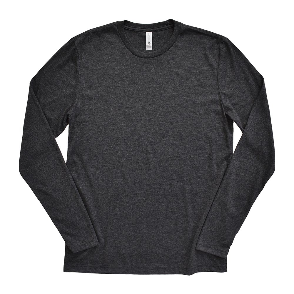 NEXT LEVEL UNISEX TRIBLEND LONG SLEEVE (In Stock) classic fit - humanKIND shop with a purpose
