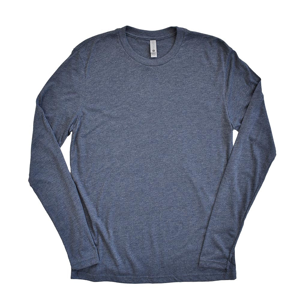 NEXT LEVEL UNISEX TRIBLEND LONG SLEEVE classic fit - humanKIND shop with a purpose