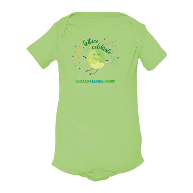 LETTUCE CELEBRATE CHICAGO FEEDING GROUP  <br />ONESIE
